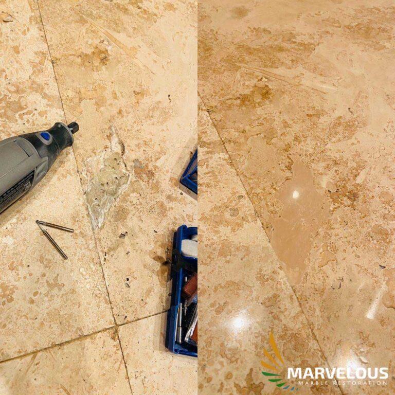 Marble Crack Repair in West Palm Beach, Boca Raton, Wallington, Boynton Beach, Orlando