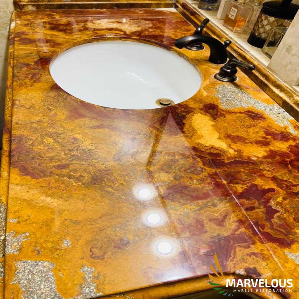 Marble Restoration in West Palm Beach, Wallington, Boynton Beach, Boca Raton