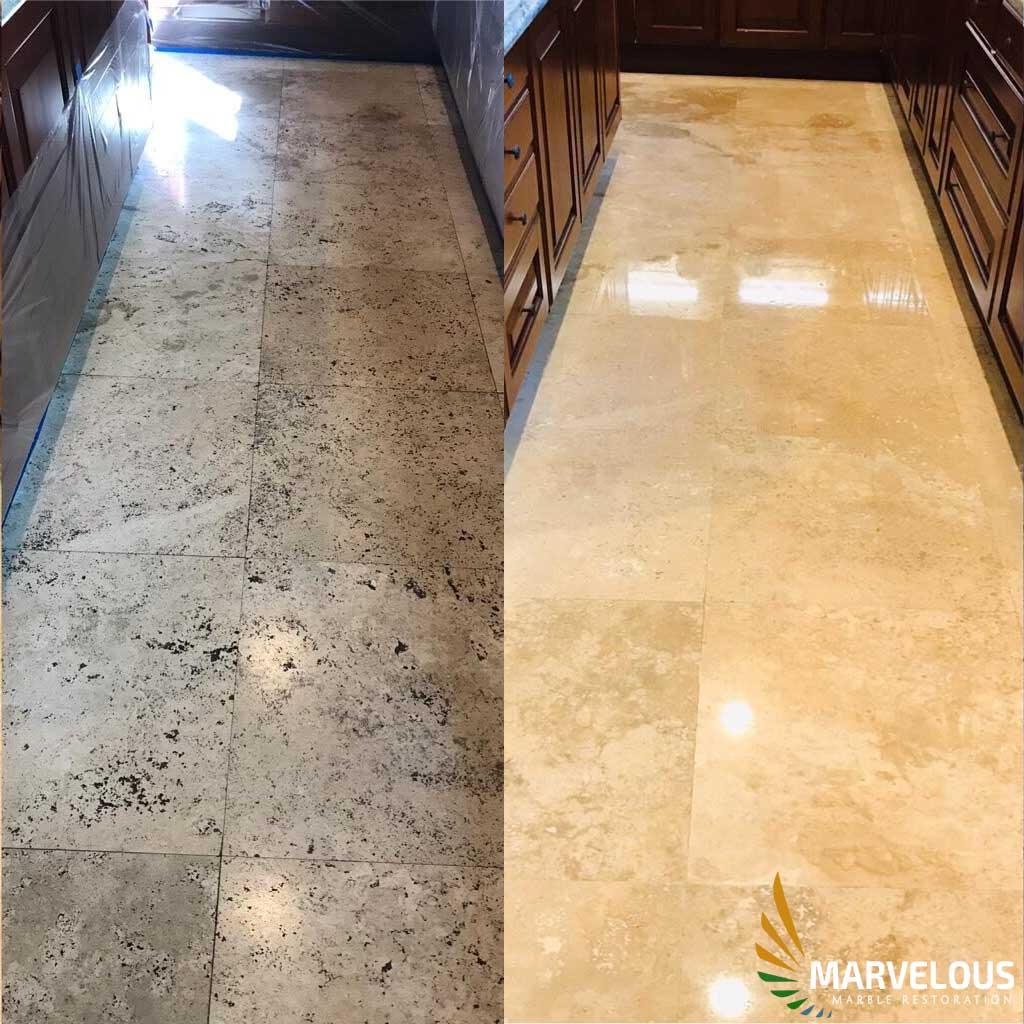 Marble Restoration in Pompano Beach, Florida